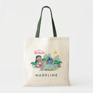 Lilo & Stitch | Reading the Ugly Duckling Tote Bag