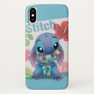 Lilo & Stitch   Stitch with Ugly Doll iPhone X Case