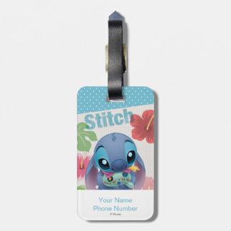 Lilo & Stitch | Stitch with Ugly Doll Luggage Tag