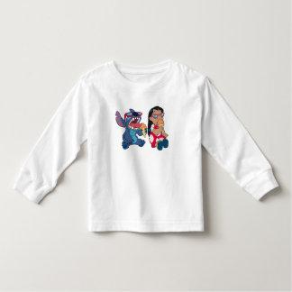Lilo & Stitch's Lilo and Stitch Eating Ice Cream Toddler T-Shirt