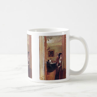 Lilving Room With The Artist'S Sister Coffee Mugs
