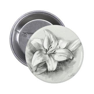 lily-2 6 cm round badge