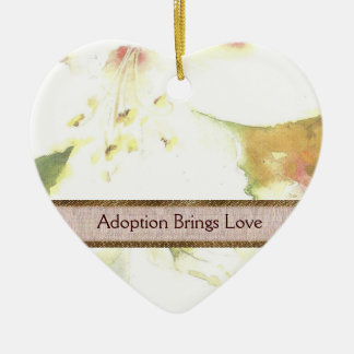 Lily Adoption Ornament