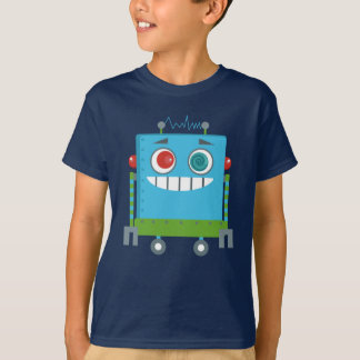 Lily and Emma by Eggroll Games: Denki the Robot T-Shirt