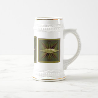 Lily Cocoon Nest Abstract Art Beer Steins