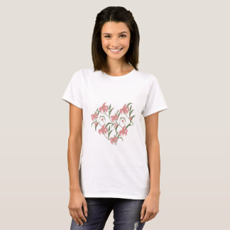 Lily floral T-Shirt