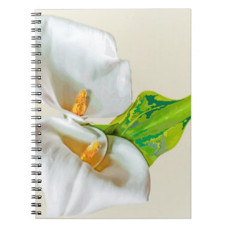 Lily Flower Notebook