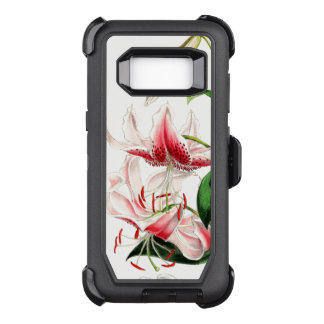 Lily Flowers Art Defender Samsung Galaxy S8 Case