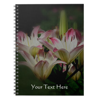 Lily Flowers Nature Notebooks