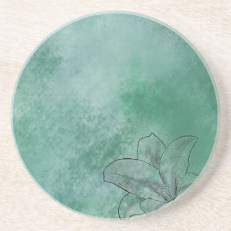 Lily in Blue Drink Coasters