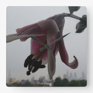 Lily in London by the Shard Wall Clock