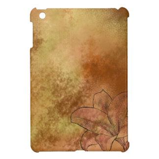 Lily in Orange iPad Mini Covers
