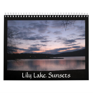 Lily Lake Sunsets Calender Calendars