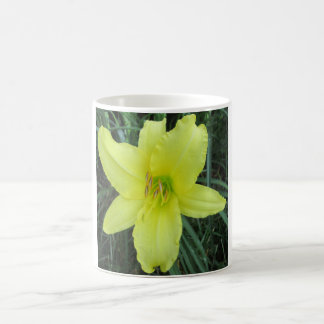 Lily Lemon Yellow Coffee Mug