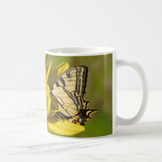 Lily Lover - Butterfly on Daylilies Coffee Mug