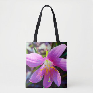 Lily of the bagley tote bag