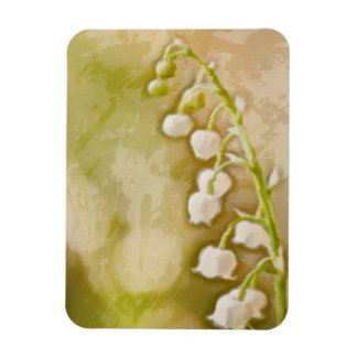 Lily of the Valley at Sunrise Sketch Magnet