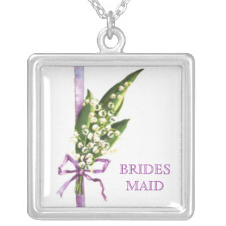Lily of the Valley BRIDAL PARTY necklace