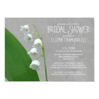 Lily of the Valley Bridal Shower Invitations