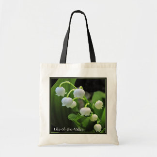 Lily-of-the-Valley Budget Tote Bag