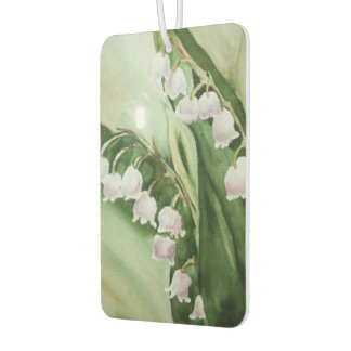 LILY OF THE VALLEY CAR AIR FRESHENER