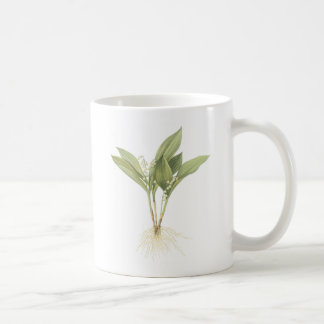 Lily-of-the-valley(Convallaria majalis) by Redouté Coffee Mug