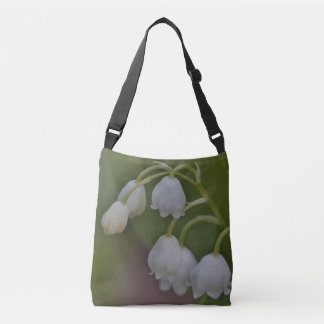 Lily of the valley crossbody bag