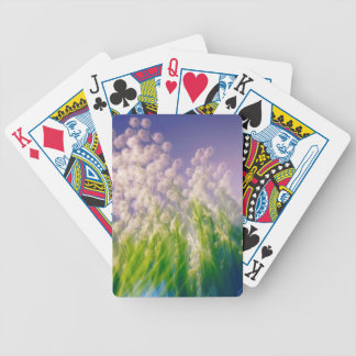 Lily of the Valley Dance in Blue Bicycle Playing Cards
