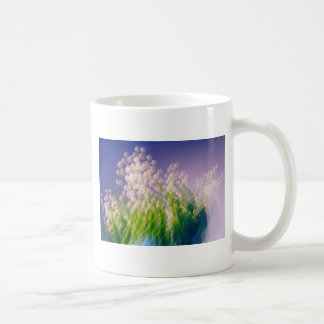 Lily of the Valley Dance in Blue Coffee Mug