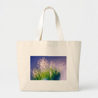 Lily of the Valley Dance in Blue Large Tote Bag