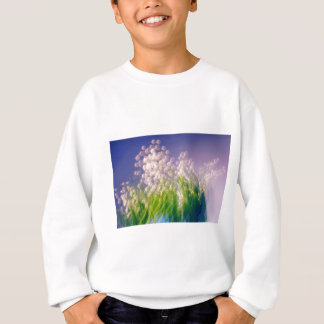 Lily of the Valley Dance in Blue Sweatshirt