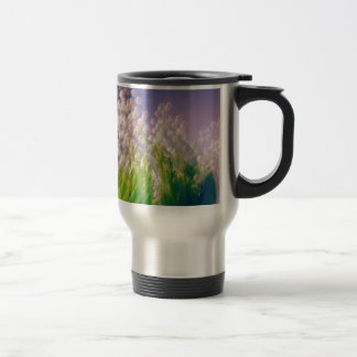 Lily of the Valley Dance in Blue Travel Mug