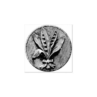 Lily of the Valley Engraving Rubber Stamp