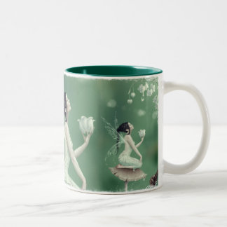 Lily of the Valley Fairy Mug
