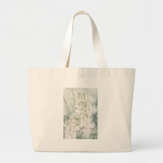 Lily of the Valley Flower Bouquet Large Tote Bag
