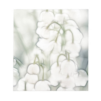Lily of the Valley Flower Bouquet Notepad