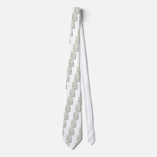 Lily of the Valley Flower Bouquet Tie