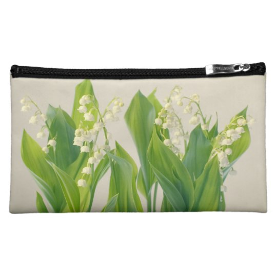 Lily of the Valley Flower Group Cosmetic Bag