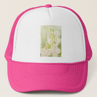 Lily of the Valley Flower Group Sketch Trucker Hat