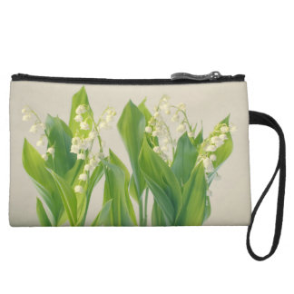Lily of the Valley Flower Group Wristlet