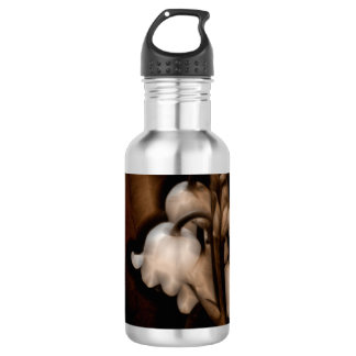 Lily of the Valley Flower in Dark Brown 532 Ml Water Bottle