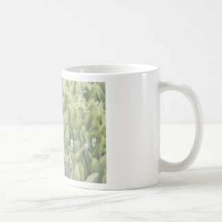 Lily of the Valley Flower Patch in Fog Coffee Mug