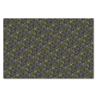 Lily of the Valley Flower Patch with Blue Tint Tissue Paper