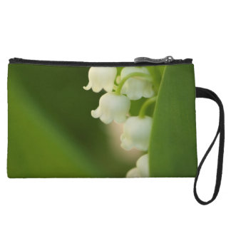 Lily of the Valley Flower Wristlet