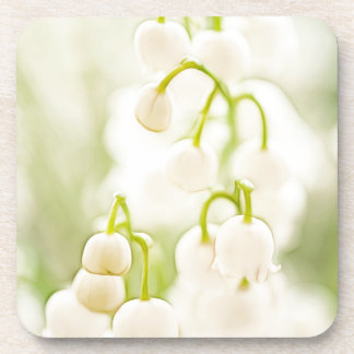 Lily of the Valley Flowers Beverage Coaster