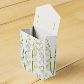 Lily of the Valley flowers Favour Box