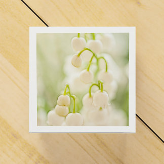 Lily of the Valley Flowers Wedding Favour Box