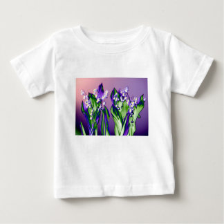 Lily of the Valley in Lavender Baby T-Shirt