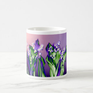 Lily of the Valley in Lavender Coffee Mug