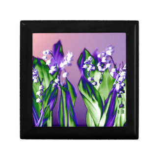Lily of the Valley in Lavender Gift Box